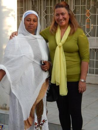 My host mother, Etalem.