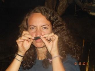 got me a chicken mustache!