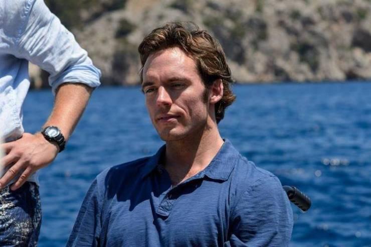 Sam Claflin como Will Traynor en 'Antes de ti'
