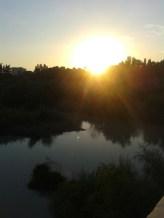 Puesta de sol Ribera del Guadalquivir