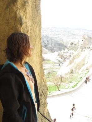 Mónica contemplando la historia