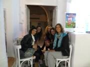 Maria, Eva, Elsa, Gina and me drinking an amazing cocktail!