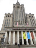 Palace of Culture and Science in Warsaw. The tallest building in Poland.