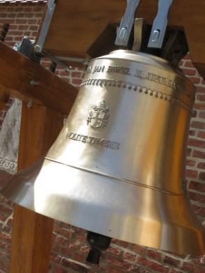 Golden bell in memory of Saint Paul II