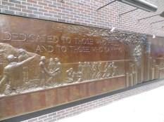 Mural en conmemoración de los bomberos fallecidos el 9/11