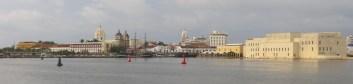 Preciosa vista de Cartagena desde el barco.