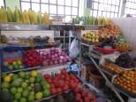 """Llegamos tarde al Walking Tour, pero los """"cazamos"""" en la primera parada: el mercado. Batidos de frutas a 1 dólar!"""