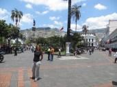 Plaza de la Independencia, el centro de la ciudad y el lugar más emblemático de la misma.