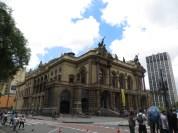 Teatro Municipal de Sao Paulo, uno de los edificios más emblemáticos de la ciudad.