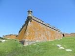 Muro de la Fortaleza de Santa Teresa