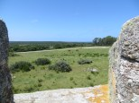 La fortaleza esta situada dentro del Parque Nacional