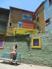 En sí, las construcciones son de lo más humildes, pero ese toque de color lo cambia todo!
