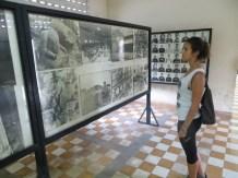 Alrededor de 17.000 personas fueron encarceladas (y ejecutadas) durante el régimen de Pol Pot, solo en esta prisión.