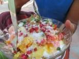 Frutas con yogur... menudo desayuno más extraordinario para empezar el día!