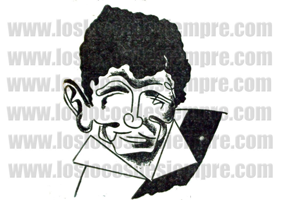 Caricatura Caricho Guzmán. Diario La Crónica
