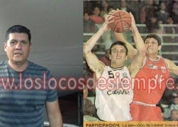 Acá una foto de Vargas haciéndole una tapa al Ginobili, cuando se enfrentaron Perú y Argentina