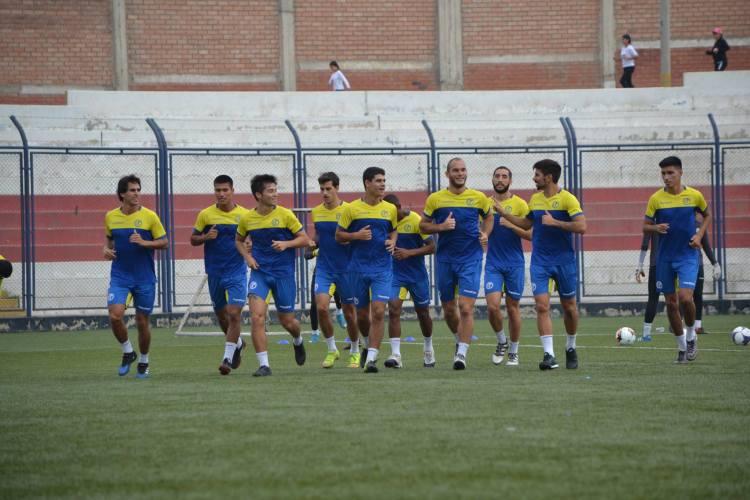 La Academia entrenó en Villa El Salvador. Foto: Prensa Deportivo Municipal