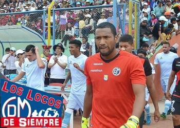 Julio Aliaga, arquero del Deportivo Municipal, es el destacado de la semana. Foto: LOSLOCOSDESIEMPRE/Raúl Oscco