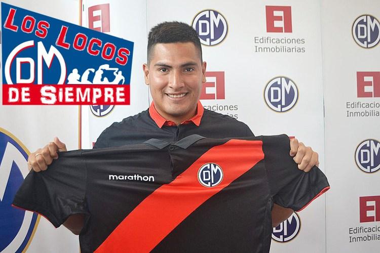 Diego Mayora, jugador del Deportivo Municipal. Foto: LOSLOCOSDESIEMPRE