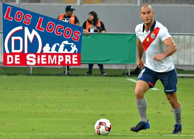 Adrian Zela, defensor del Deportivo Municipal. Foto: LOSLOCOSDESIEMPRE