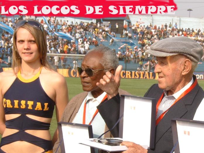 Tito Drago. Con Vides Mosquera. Foto: LOSLOCOSDESIEMPRE