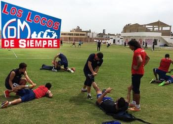 Entreno en Chiclayo el Deportivo Municipal en la Videnita del norte