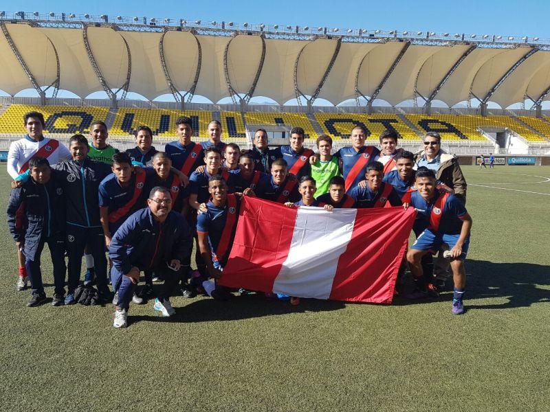 Sub 18 del Muni en Chile