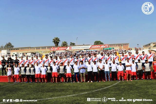 La presentación del Deportivo Municipal. Foto: Prensa CDM