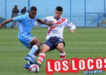 Armando Alfageme fue el mejor del partido. Foto: LOSLOCOSDESIEMPRE/ Enzo Mori