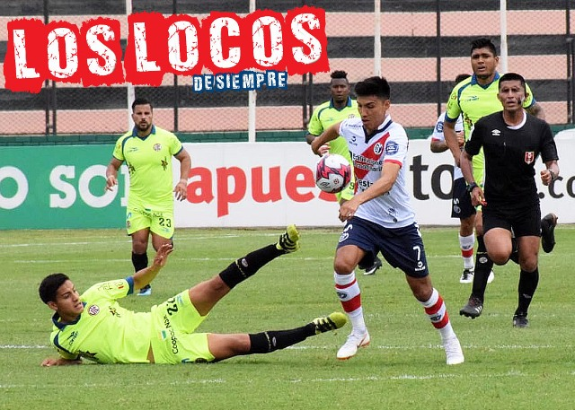 José Miguel Manzaneda fue el jugador más peligroso de la AKD. Foto: LOSLOCOSDESIEMPRE/ Enzo Mori
