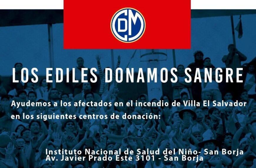 Cadena de solidaridad con Villa El Salvador