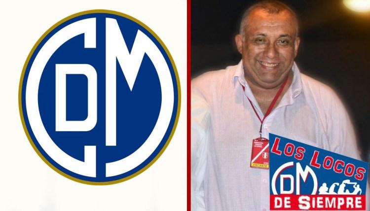 Martin Ojeda, candidato a la presidencia del Deportivo Municipal