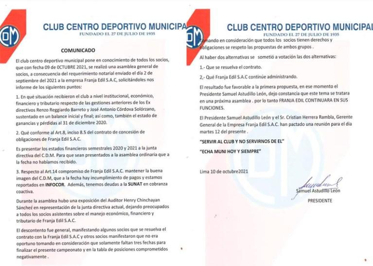 Presidente Astudillo emite comunicado con inexactitudes sobre asamblea