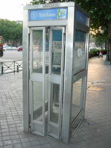 Cabina de teléfono 2