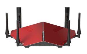 mejores routers para Internet - mejor router tribanda de 2016 - Router Ultra WiFi D-Link DIR-890L AC3200