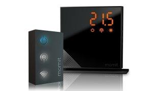 Termostato Momit Home kit starter - controlar la calefacción en casa