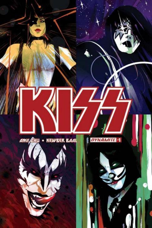 kiss comic