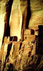 Ruina de los Anasazi en Cañón Chelly -Arizona-.