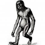 Dibujo del UHANG PANDK- Orang Pendek