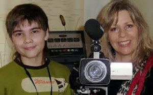 Boriska entrevistado.