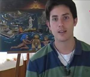 Matias habla de otras vidas pasadas plasmándola en dibujos y conocimientos varios.