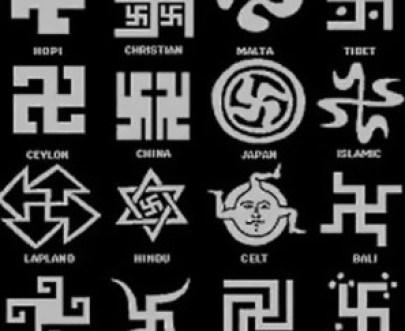 Cruz Gamada o Esvástica en las diferentes culturas de la Tierra.
