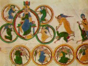 En la historia viene reflejada en diferentes dibujos.