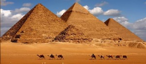 Pirámides de Giza.