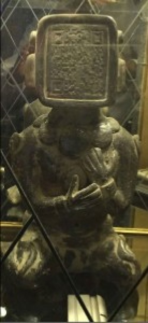 Figura humanoide Maya.