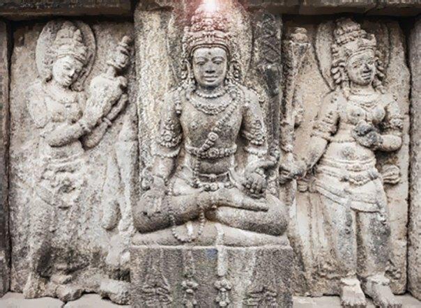 Brahma, Vishnu, y Shiva