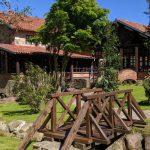 Jardín privado del restaurante