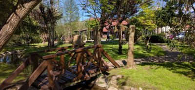 Restaurant Jardin privé.