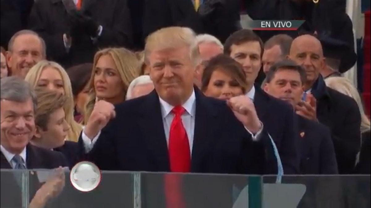 """Trump toma juramento, """"a partir de ahora, primero los Estados Unidos"""""""