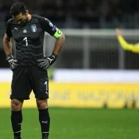 """Lágrimas de derrota, el trago más amargo de """"Gigi"""" Buffon"""